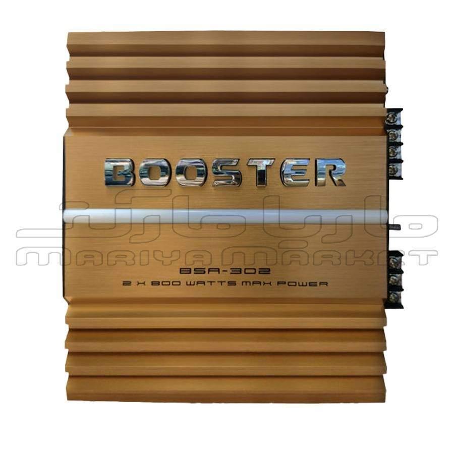 فروشگاه سیستم صوتی ماریا مارکت |آمپلی فایر 2 کانال بوستر مدل BSA -302