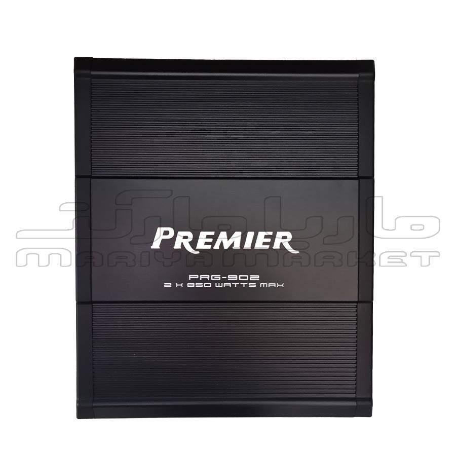 فروشگاه سیستم صوتی ماریا مارکت |آمپلی فایر 2 کانال پریمیر مدل PRG - 902